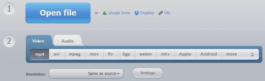 Convert-video-online.com Convert Video Files