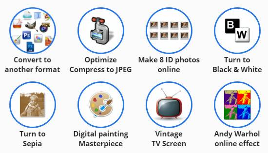Convertimage.net Online Photo Converter