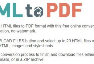 Html2pdf.com HTML to PDF