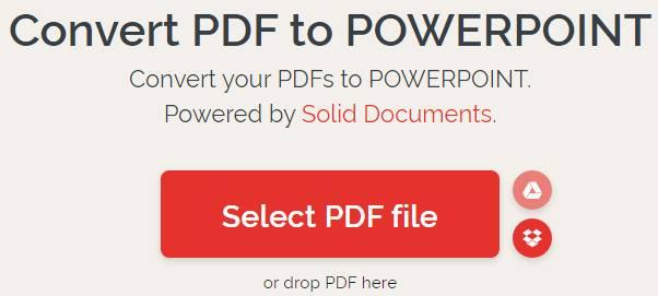 Ilovepdf.com Convert PDF to PPT