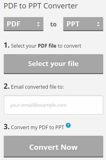 Pdftoppt.com PDF to PPT