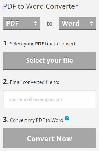 Pdftoword.com PDF to Word