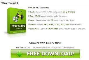 Wavmp3.net WAV To MP3 Converter