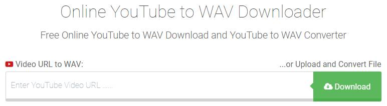 Youtube-wav.com YouTube to WAV